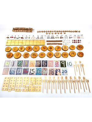 NATURAL COUNTING SET (100+ ITEMS)