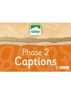 PHASE 2 CAPTIONS - DECODABLE AND TRICKY