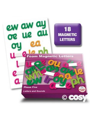 PUPIL-SIZED PHASE 5 MAGNETIC LETTERS (18PK)