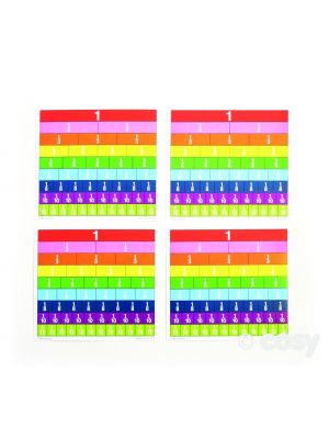 PAPER COLLECTION FRACTION BARS (30PK)