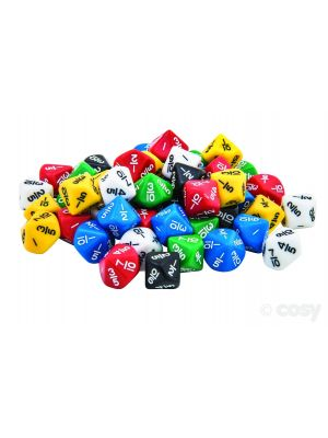 DICE FRACTIONS 10THS EQUIVALENCE JAR