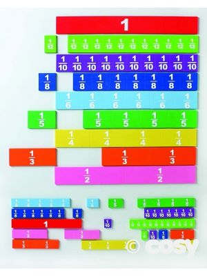 MAGNETIC FOAM FRACTION TILES STUDENT SIZE