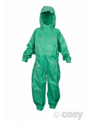 ALL IN ONE RAINSUIT GREEN (7-8 YRS)
