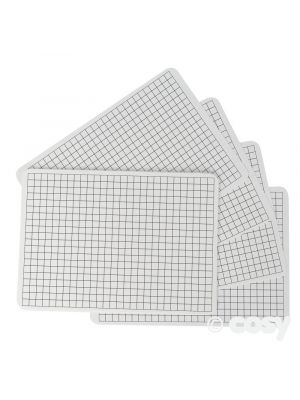 SQUARED NUMBER WHITE BOARDS