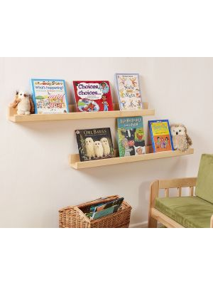 FRONT FACING BOOK SHELVES (2PK)