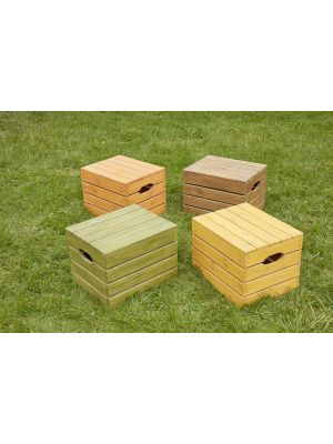 WOODEN CRATE SEATS KS1 (4PK)