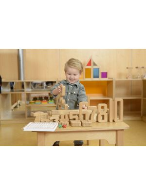 WOODEN NUMBER LEARNING KIT