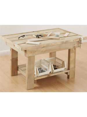 TODDLER CHUNKY MONKEY WOODWORK BENCH