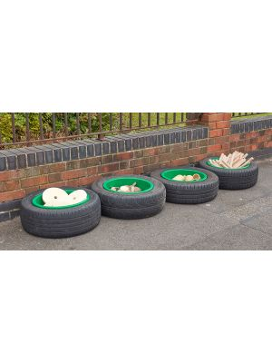 INDESTRUCTIBLE TYRE BOWLS (4PK)