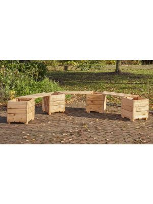 SWITCH SEAT ANGLED PLANTER (6 PERSON)