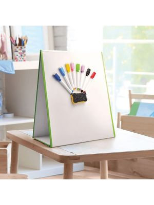 FOLDING A3 TABLETOP MAGNETIC WHITEBOARD