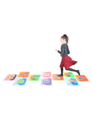HOPSCOTCH LIQUID FLOOR TILES (10PK)