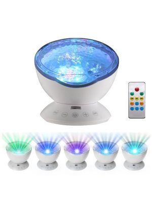 OCEAN WAVE PROJECTOR WITH SOUNDS AND SPEAKER