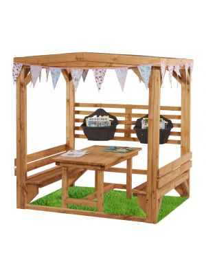 CHATTY SHELTER WITH TABLE & BENCHES KS2