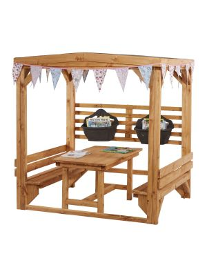 CHATTY SHELTER WITH TABLE & BENCHES KS1