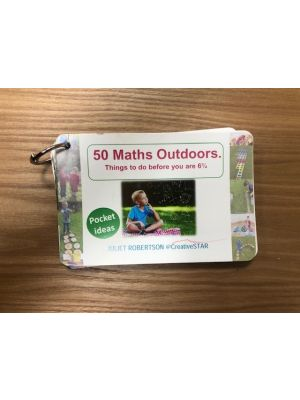 CREATIVE STAR'S MESSY MATHS 50 THINGS TO DO