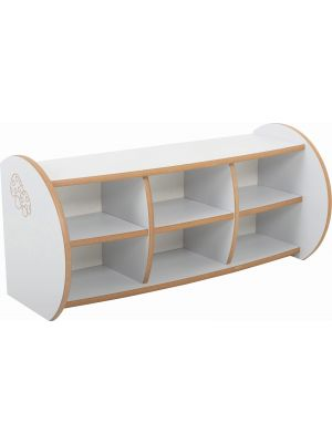 Mini 2 Shelf Unit With Dividers