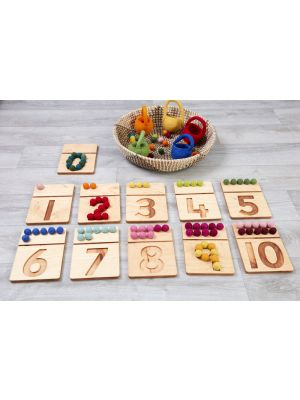 Felt Ball Numbers Pack (11Pk)