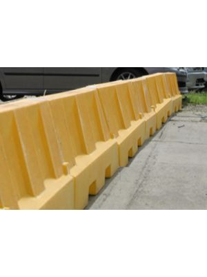 Yellow Water Filled Playground Barriers and Dividers 21pk