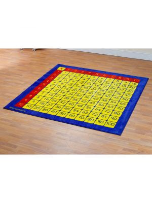 100 Square Counting Carpet 2 X 2M