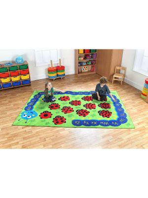 Back To Nature Numeracy / Literacy Carpet 3 X 2M