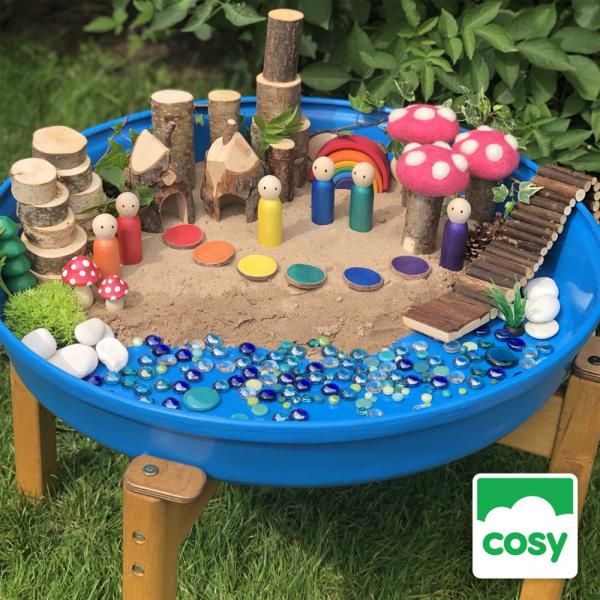 210 tray play ideas with the Cosy Mini Deep Tuff Spot Tray
