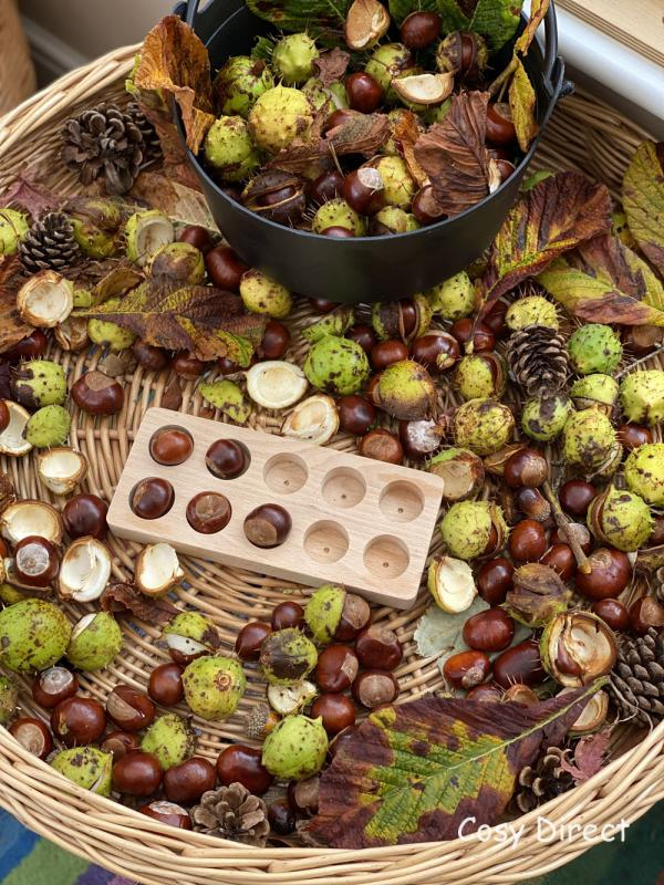 20 ways to play with conkers