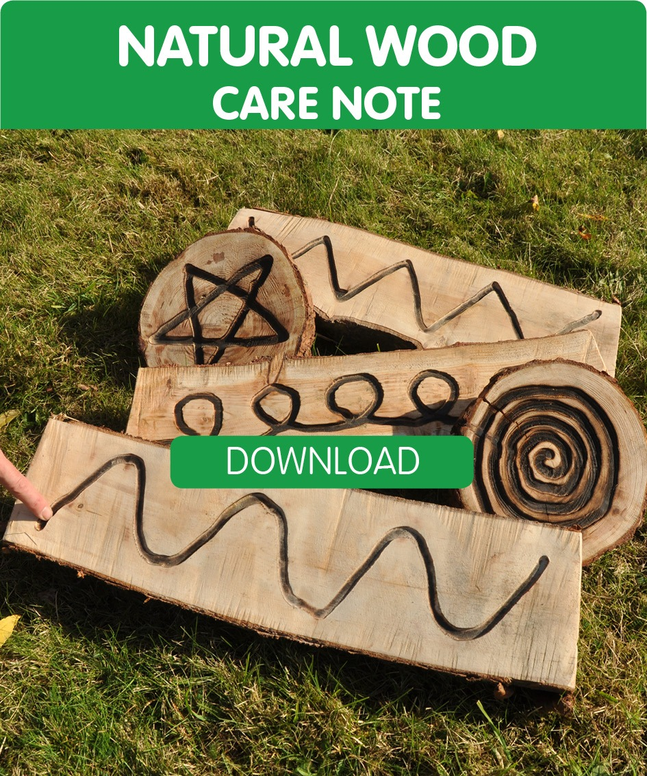 natural wood products advice and care notes