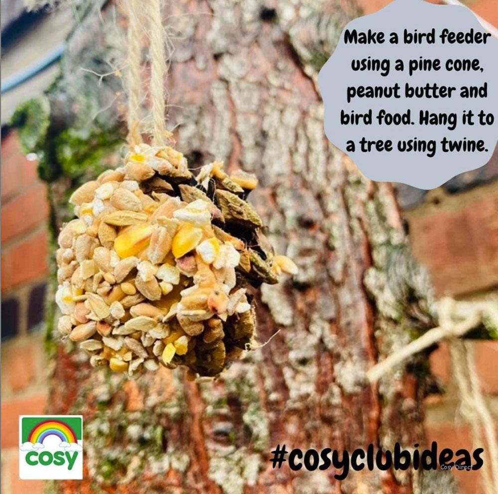Outdoor play - bird feeder