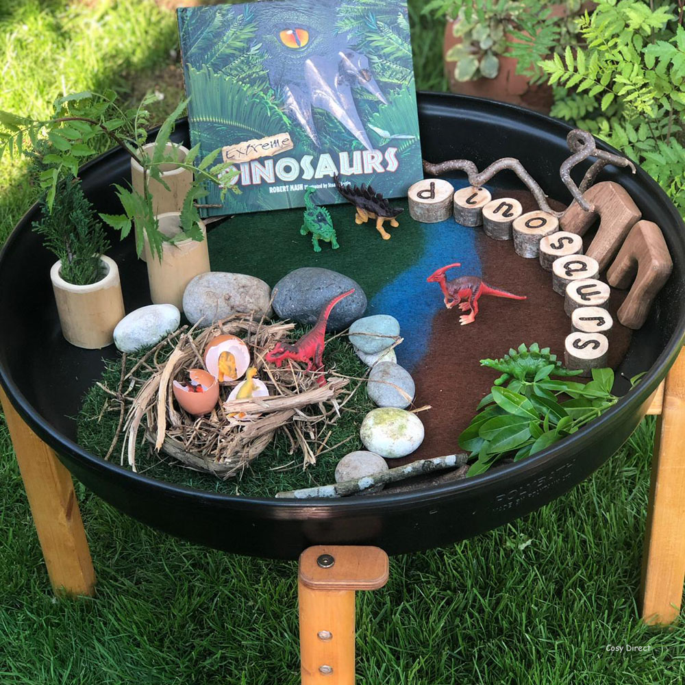 Book play - dinosaurs