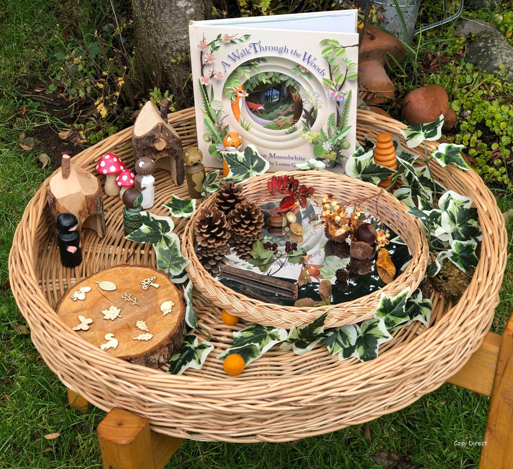 book play - outdoor play