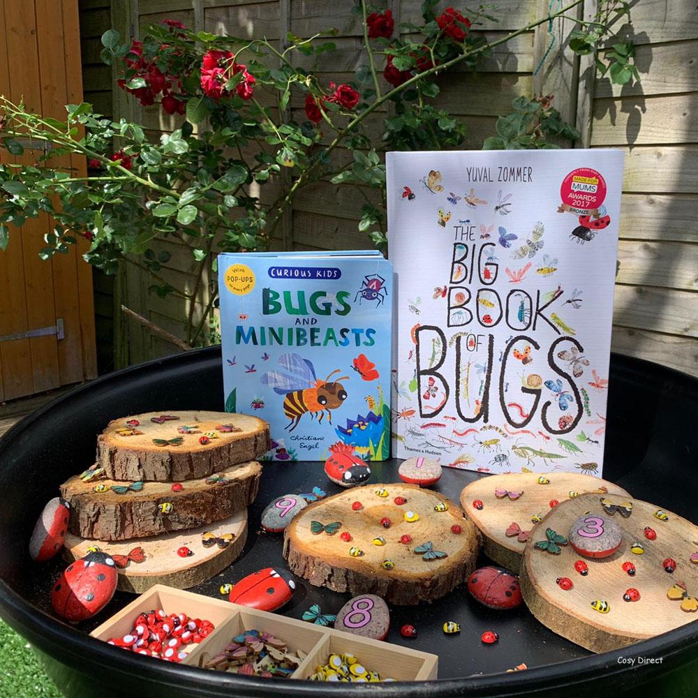 book play - minibeasts