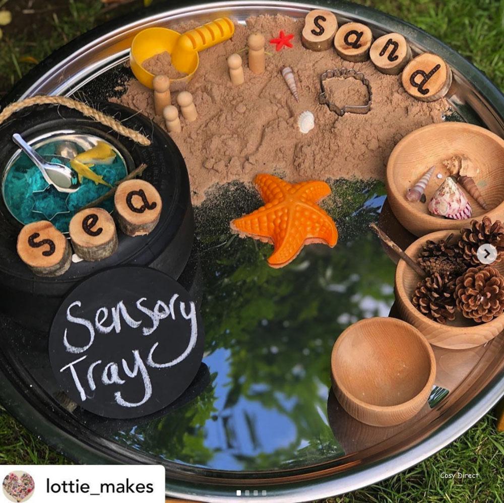 mirror tray play ideas