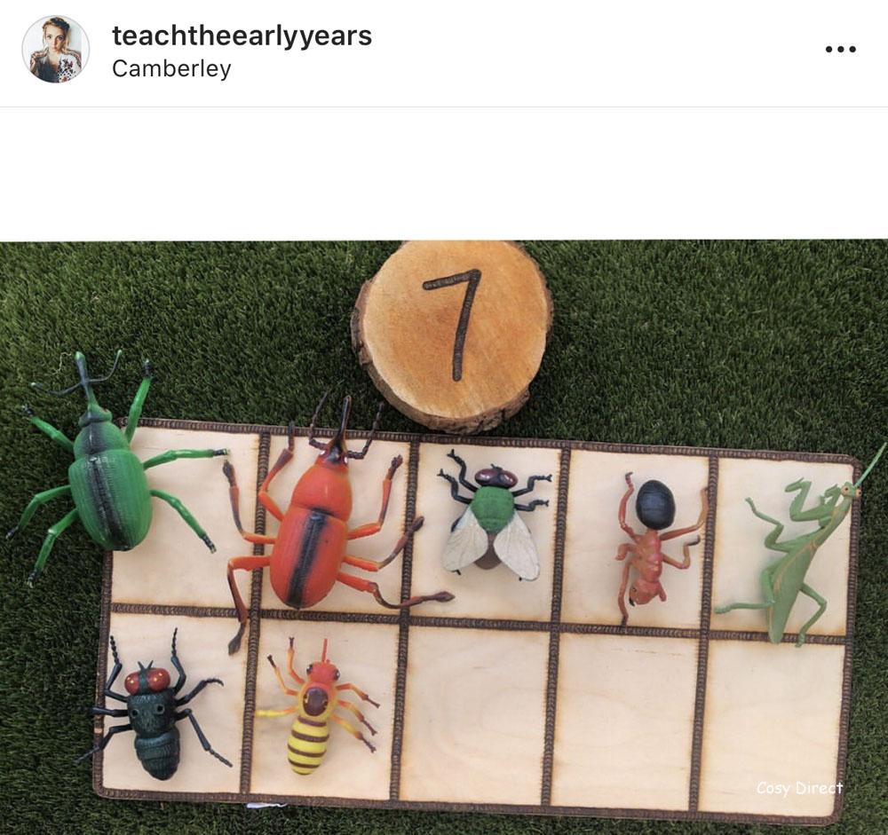 wooden ten frames