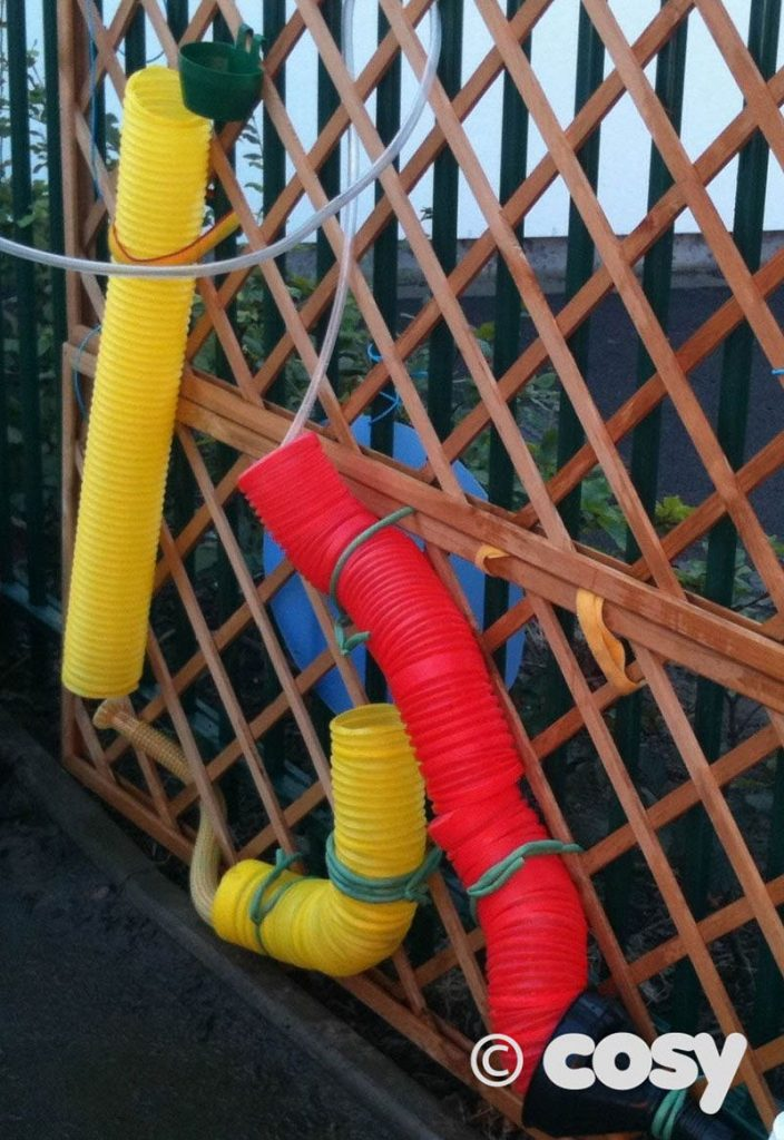 Water play - pipes