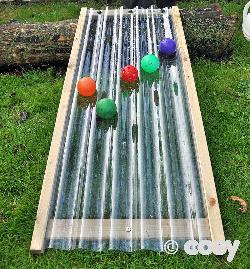 Water play - water ramp
