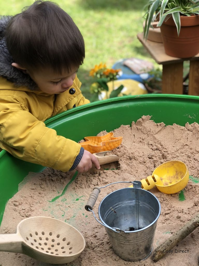 Sand and water play ideas